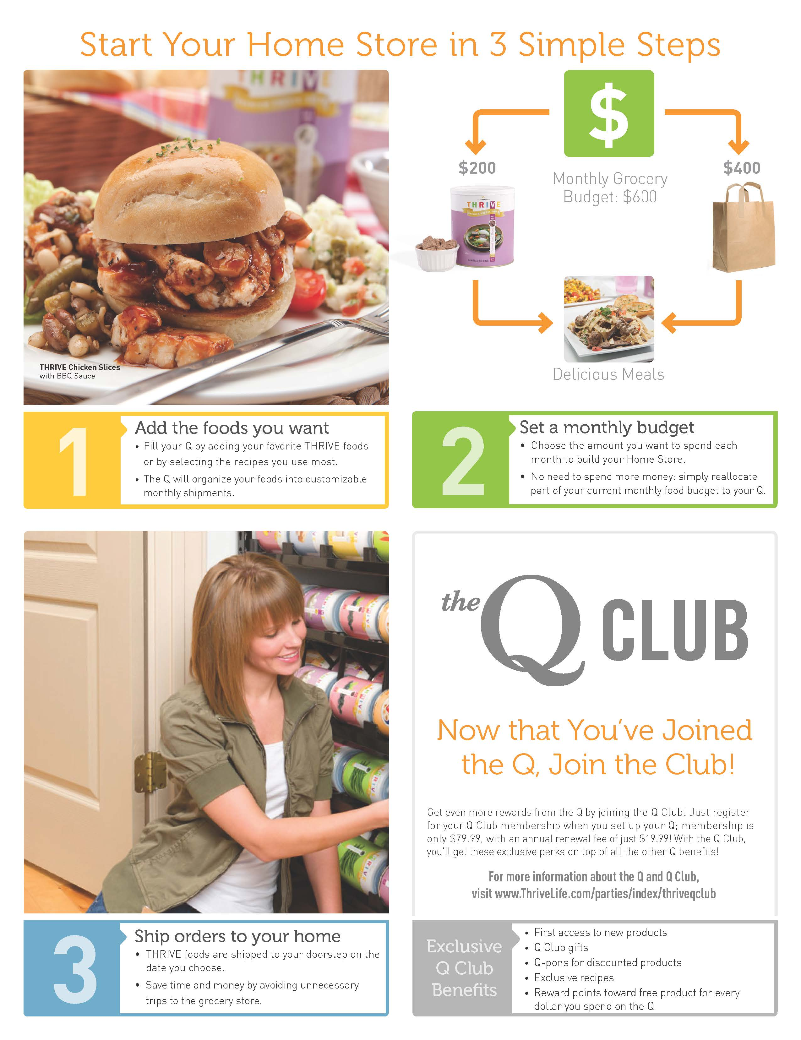 Steps for setting up Q Club
